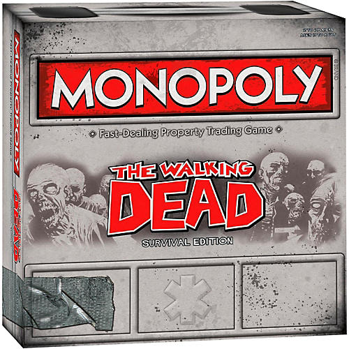 USAOPOLY MONOPOLY: The Walking Dead Survival Edition-thumbnail