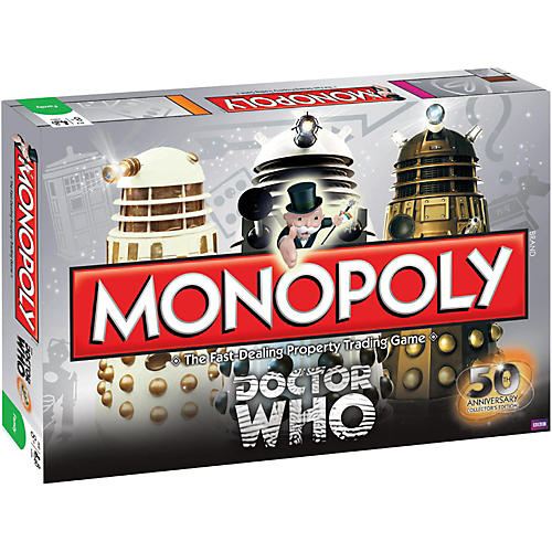 USAOPOLY MONOPOLY:Doctor Who 50th Anniversary Collector's Edition-thumbnail