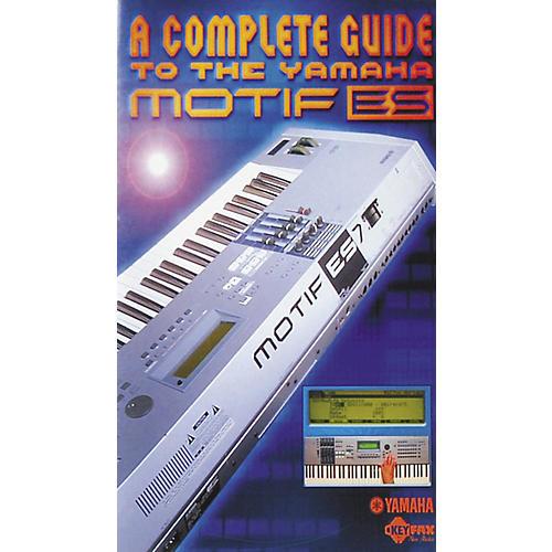 Yamaha MOTIF ES DVD Owners Manual-thumbnail