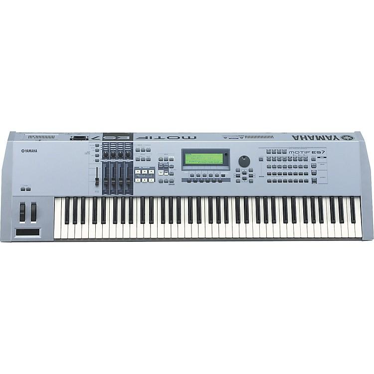 yamaha motif es7 76 key music production synthesizer