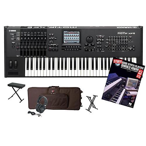 Yamaha MOTIF XF6 61-Key Workstation Package 1-thumbnail