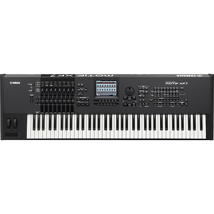 Yamaha MOTIF XF7 76-Key Music Production Synthesizer