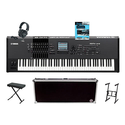 Yamaha MOTIF XF8 88 Key Workstation Package 1