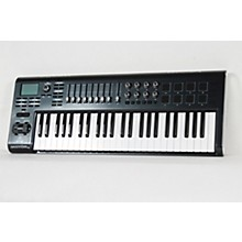 Behringer MOTÖR 49 49-Key USB/MIDI Master Controller Keyboard with Motorized Faders and Touch-Sensitive Pads Level 2 Black 888366012932