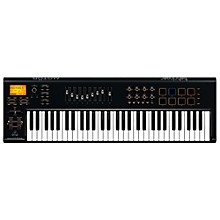 Behringer MOTÖR 61 61-Key USB/MIDI Master Controller Keyboard with Motorized Faders and Touch-Sensitive Pads Black
