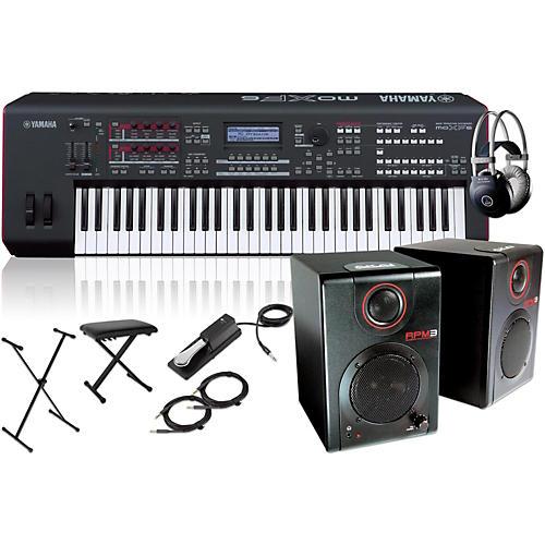 Yamaha MOXF6 Synthesizer Package