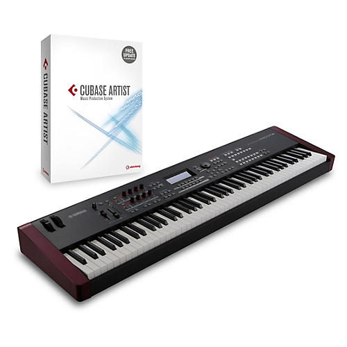 Yamaha moxf8 88 key weighted synth with cubase artist for Yamaha moxf8 case