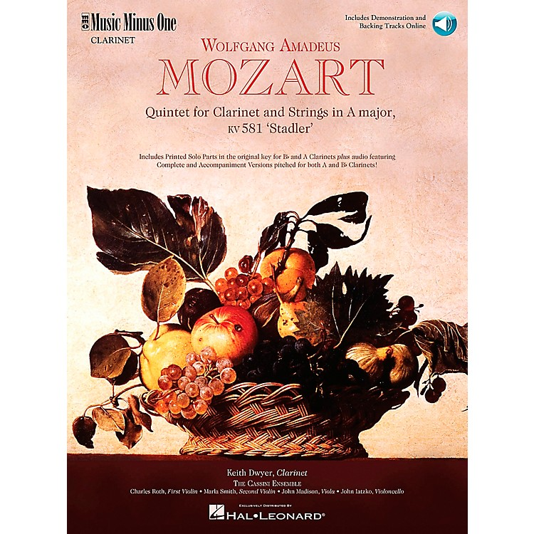Hal Leonard MOZART Quintet in A major, KV581