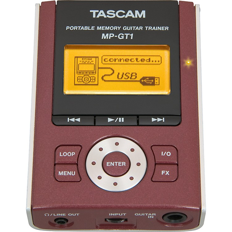 TASCAMMP-GT1 Portable MP3 Guitar Trainer