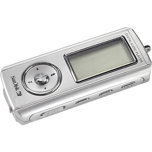 SanDisk MP3 Player with 1GB Memory-thumbnail