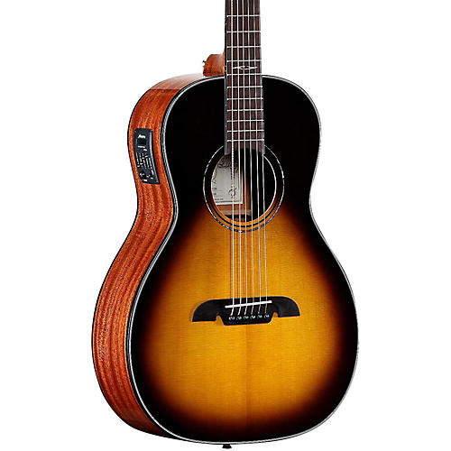alvarez mp610esb parlor acoustic electric guitar musician 39 s friend. Black Bedroom Furniture Sets. Home Design Ideas