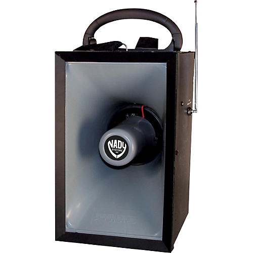 Nady MPA-400 Wireless Megaphone PA System with Wireless Handheld Mic