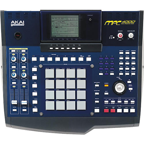 Akai Professional MPC4000 Plus Production Station with CDRW