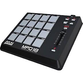 akai professional mpd18 usb midi pad controller musician 39 s friend. Black Bedroom Furniture Sets. Home Design Ideas