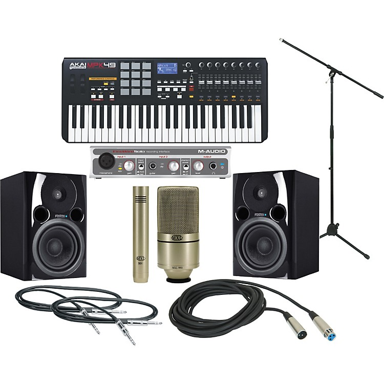 Akai Professional MPK 49 Recording Package