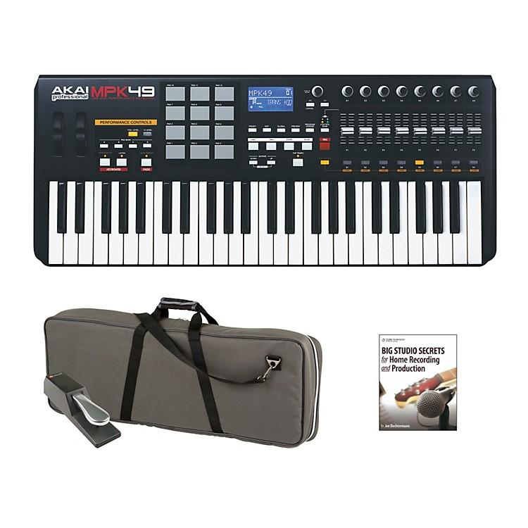 Akai ProfessionalMPK49 Keyboard Controller Package 1