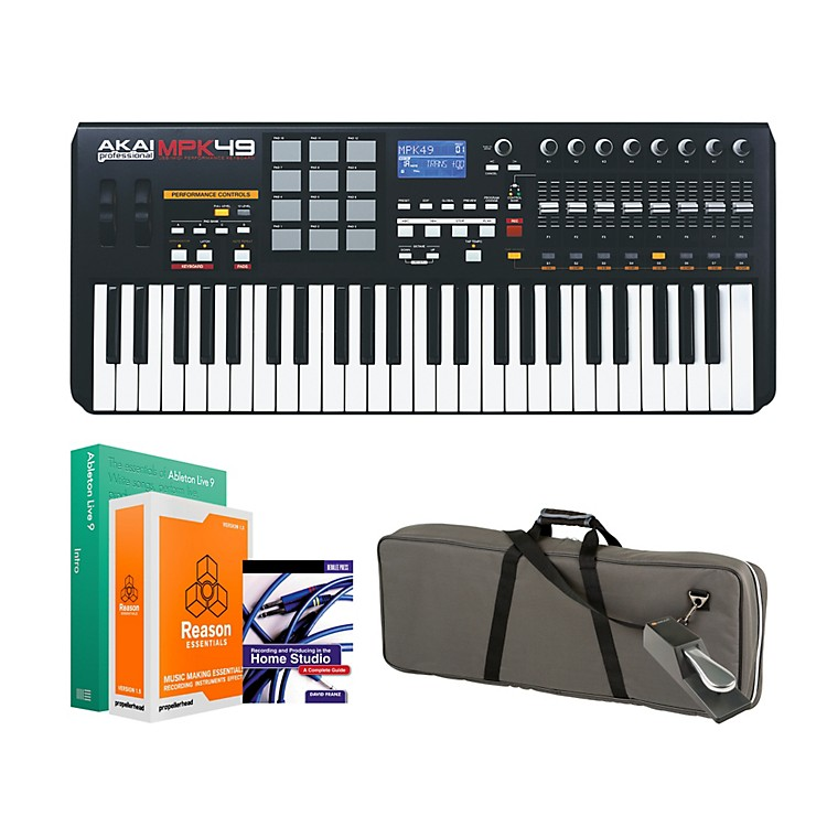Akai Professional MPK49 Keyboard Controller Package 2