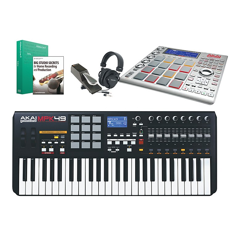 Akai Professional MPK49 & MPC Studio Package 1