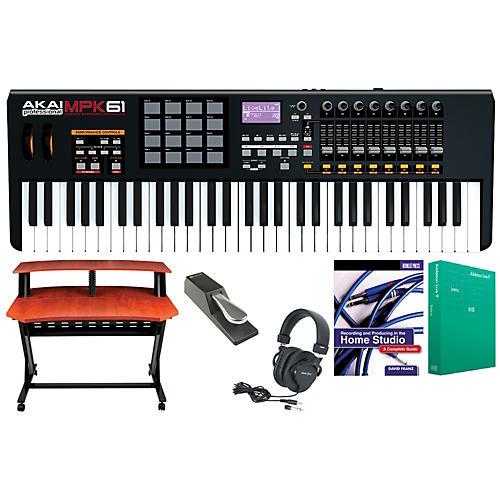 Akai Professional MPK61 Keyboard Controller Package 1