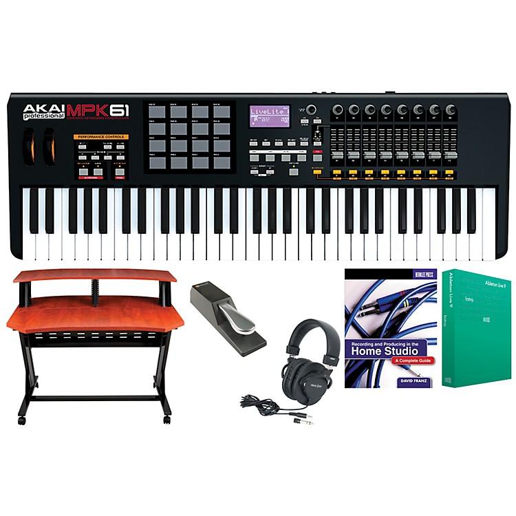 Akai ProfessionalMPK61 Keyboard Controller Package 1