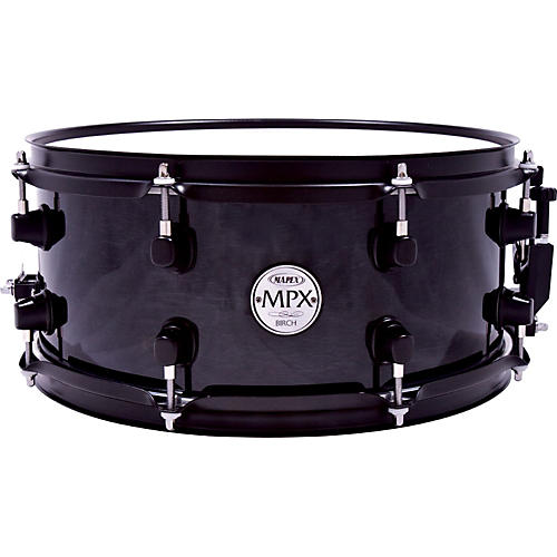 Mapex MPX Birch Snare Drum 13 x 6 in. Black