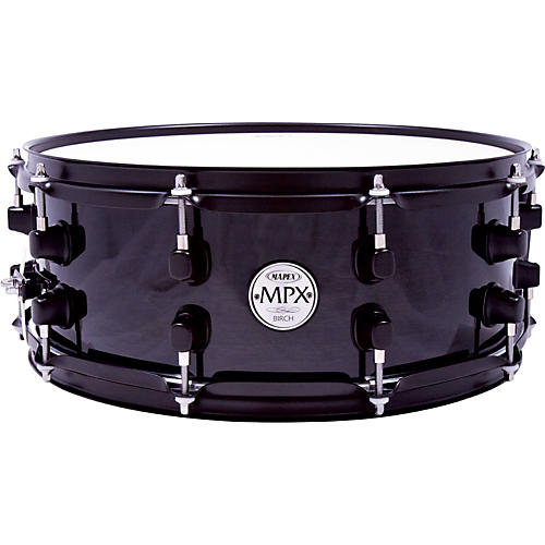 Mapex MPX Birch Snare Drum 14 in. x 5.5 in. Black-thumbnail