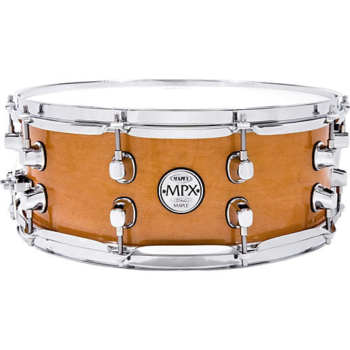 Mapex MPX Maple Snare Drum 14 in. x 5.5 in. NATURAL