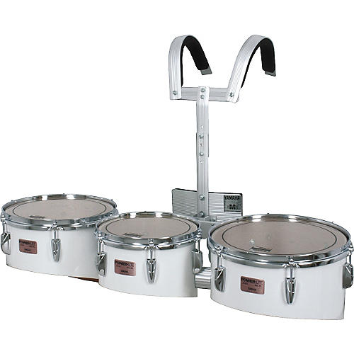 Yamaha MQL-023 Power-Lite Marching Tom Trio with Carrier-thumbnail