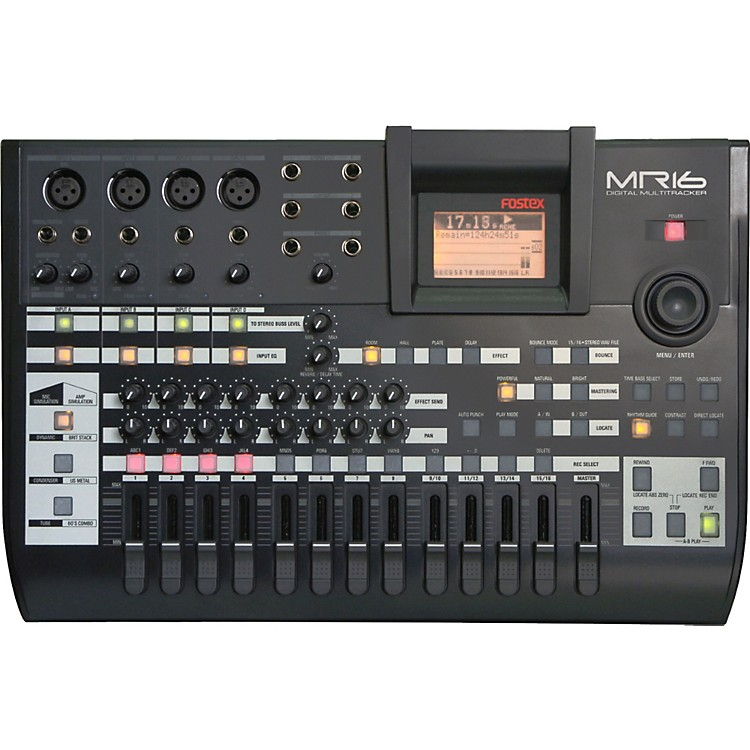Fostex MR-16HD 16-Track Digital Recorder