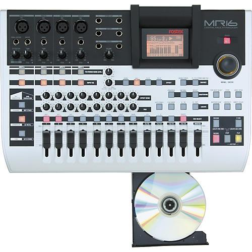Fostex MR16 HD/CD Digital Recorder with CD-R/RW Drive