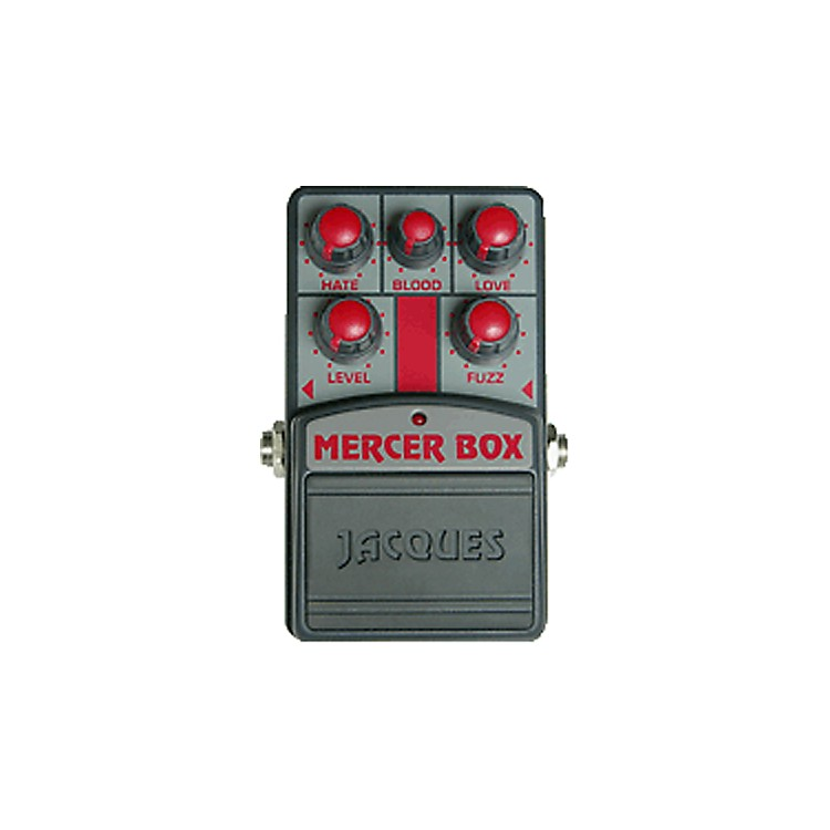 Jacques MR2 Mercer Box Concept Distortion Guitar Effects Pedal