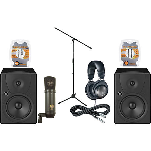 Musician's Friend MR8 Monitor & Mic Package-thumbnail