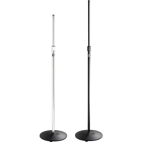 Atlas Sound MS-12C Round Base Mic Stand Chrome