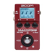 Zoom MS-60B Multi-Stomp Bass Pedal Level 1