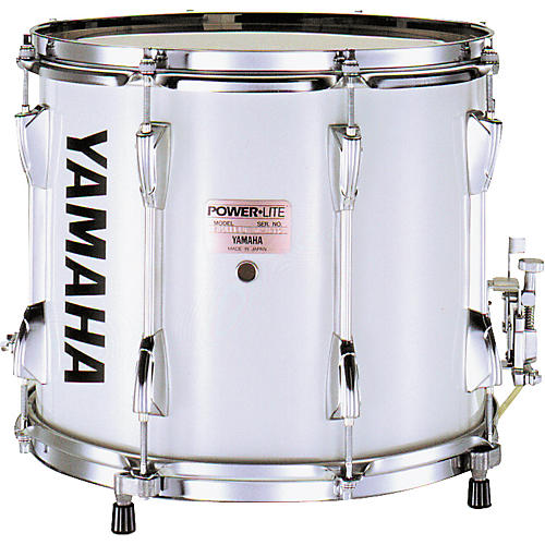 Yamaha MS-6213 POWER-LITE SNARE DRUM WHITE WITH CARRIER