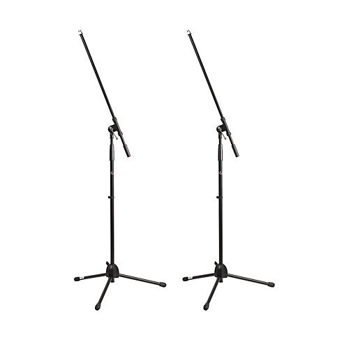 ProLine MS220 Tripod Boom Microphone Stand 2-Pack Black