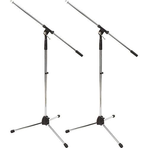 ProLine MS220 Tripod Boom Microphone Stand2-Pack