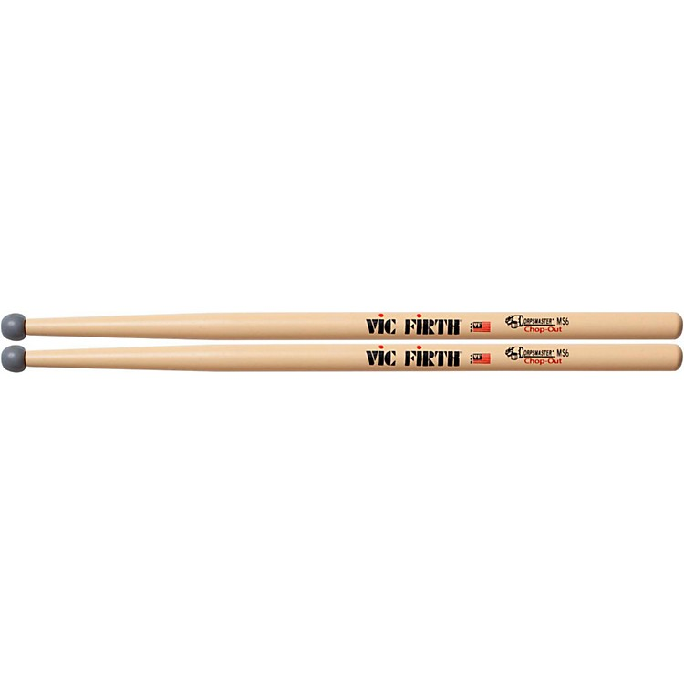 Vic Firth MS6 CHOP-OUT Rubber Tip Practice Sticks