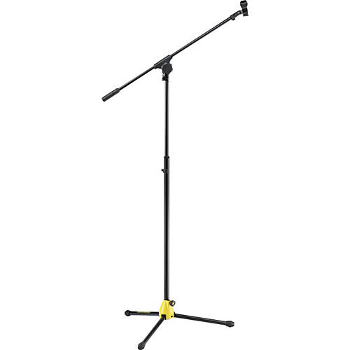 Hercules Stands MS655B EZ Glide Clutchless Tripod with Boom Microphone Stand-thumbnail