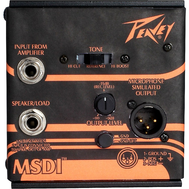 Peavey MSDI Microphone Simulated Direct Interface