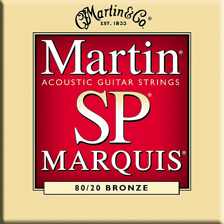 MartinMSP1100 Marquis 80/20 Bronze Light Acoustic Guitar Strings