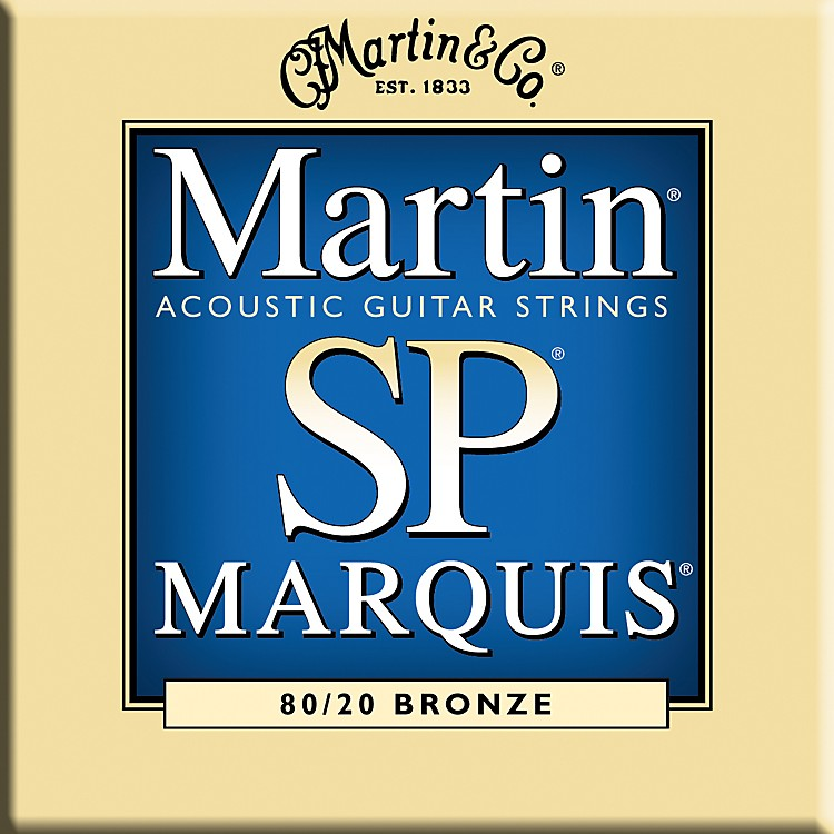 Martin MSP1200 Marquis 80/20 Bronze Medium Acoustic Guitar Strings