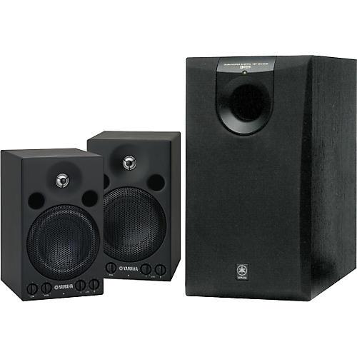 Yamaha MSP3/SW005 Powered Studio Monitor System-thumbnail