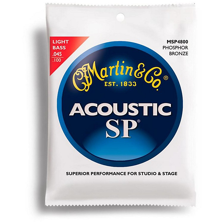 Martin MSP4800 SP Acoustic Phosphor Light Acoustic Bass 4 String