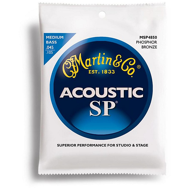 Martin MSP4850 SP Acoustic Phosphor Medium Acoustic Bass 4 String