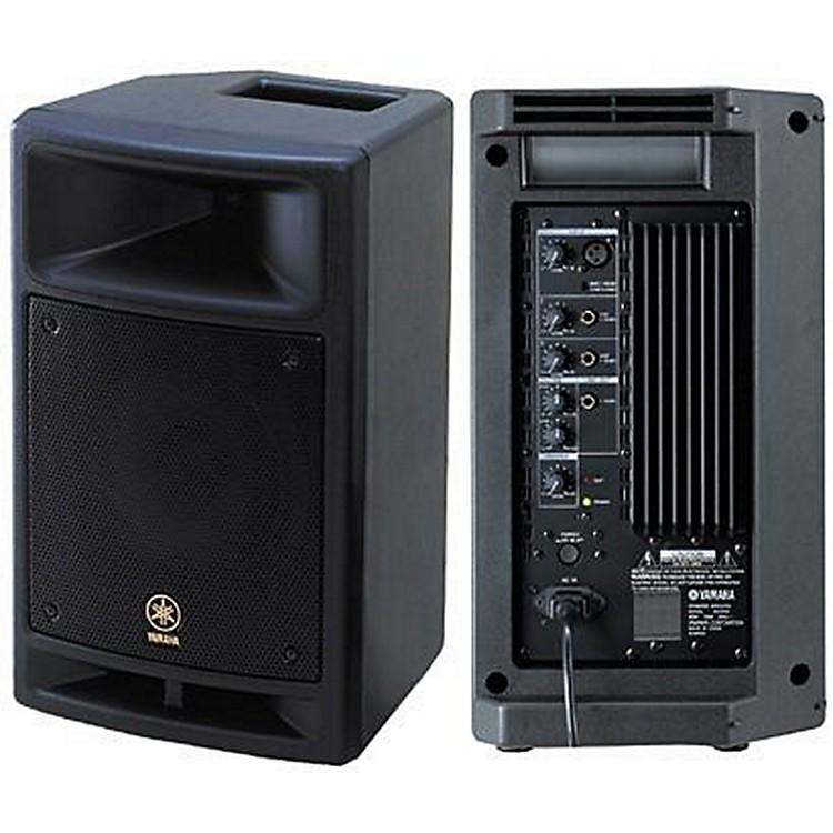yamaha msr100 8 powered speaker musician 39 s friend