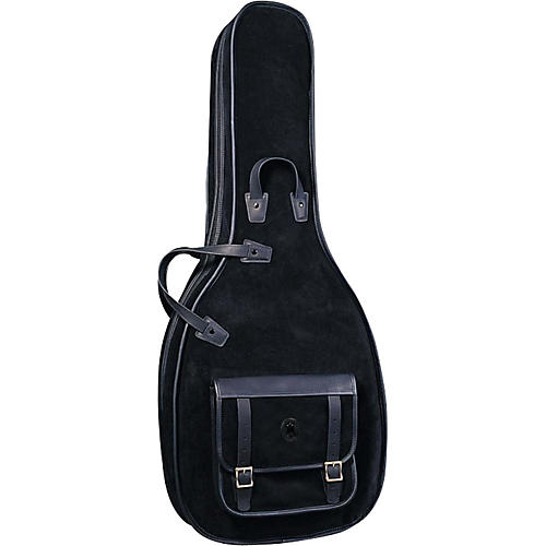 Levy's MSS120 Leather Acoustic Guitar Gig Bag-thumbnail