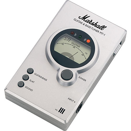 Marshall MT-1 Guitar and Bass Tuner-thumbnail