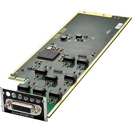 Avid MTRX 8 AES3 I/O Card With SRC And Break Out Cable
