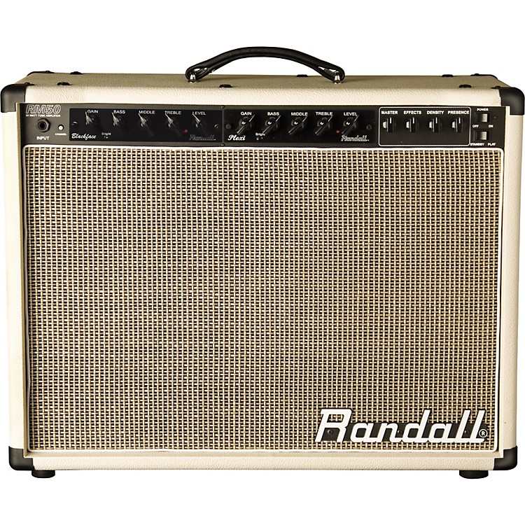 RandallMTS Series RM50CRP 50W Tube Guitar Combo Amp Without Preamp Module